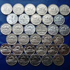 ONE ONLY Canada 5 Cents, You Choose Date(s) 1954 - 2019, All Dates Not Available