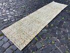Handmade rug, Runner rug, Turkish rug, Vintage, Wool rug, Carpet | 2,2 x 7,9 ft