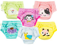 6 Pieces Set Potty Toilet Training Pants Trainers for babies kids Girls New 02