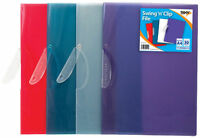 Pack of 5 A4 Swing and Clip File Folder for Projects Document Presentation