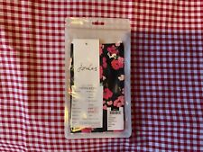 (j) JOULES FACE COVERING MASK MULTI COLOURED FLORAL EMBROIDERED LOGO SEALED PACK