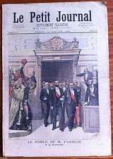 Le petit Journal 14/01/1893; Le Jubilé de M. Pasteur à la Sorbonne