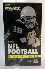 1991 Pinnacle Football card box Factory Sealed (36 packs)