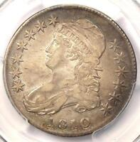 1810 Capped Bust Half Dollar 50C - PCGS XF Details (EF) - Nice Luster!