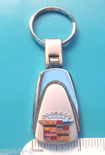 CADILLAC Crest -   keychain  key chain - teardrop shape  GIFT BOXED