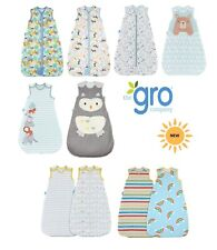 Twin Pack Grobag 0-6 months 1.0 Hippo Hop  Wash and Wear BNIP