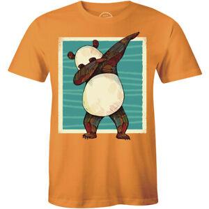 Dabbing Panda T-Shirt Funny Dancing Panda Dab Dance Men's Tee Shirt