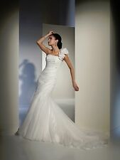 BNWT SOPHIA TOLLI WEDDING GOWN DRESS Y21159 SIZE 08 IN IVORY-WOW! *RETAIL $1350*
