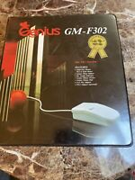 Vintage Retro Genius GM-F303 3-Button Mouse - PS2 and Serial interfaces
