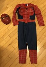 Halloween Costume Kids size Rubies Marvel Spiderman Homecoming Superhero Sz 7-10