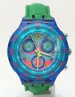 Orologio Swatch AcquaChrono ref SBN100 diver watch scuba 43 mm clock diving new