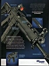 2009 SIG556 Classic Rifle Sig Sauer PRINT AD Gun Advertising