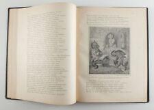1902 Imperial Russian GOETHE Reineke Fuchs Album Book KAULBACH Art