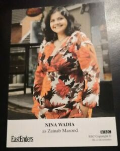 EASTENDERS UNSIGNED CAST CARD OF NINA WADIA 2