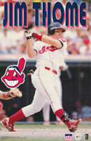 POSTER: MLB BASEBALL : JIM THOME - CLEVELAND INDIANS - FREE SHIP ! #5145   LW3 M