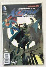 DC SUPERMAN ACTION COMICS #33 NEW 52 SIgned by Arron Kuder Batman Justic League