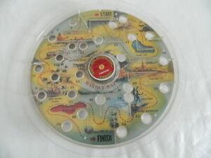 Vintage Mid-Century Marble Maze Game