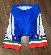 Castelli ITALIA Skoda National Champion Cycling Shorts Size Medium