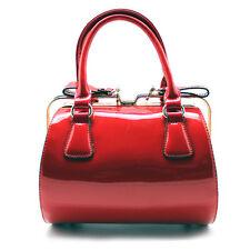 "NEW 7 LUXE Red ""LITTLE MISS MOLLY"" Satchel Handbag -70% OFF"