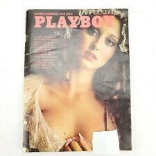 Playboy Magazine Back Issue February 1975 ~ Playmate Laura Misch Linda Lovelace