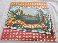 THE BEST OF BRITISH ROCKABILLY VOLUME 1  - UK V/A 20 TRK VINYL LP - ROCK N ROLL