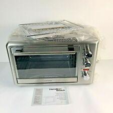 Hamilton Beach Countertop Oven XL W/ Rotisserie Stainless Steel  31103A 1500W