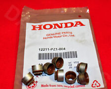 8 PC SET GENUINE OEM HONDA ACURA EXHAUST VALVE STEM SEAL B16 B17 B18 D16 H22 K20