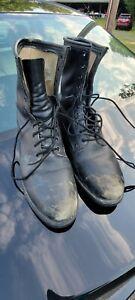 Vintage 1989 Cove Shoe Company Steel Toe Combat Army Boot Men Sz 10.5 R Military