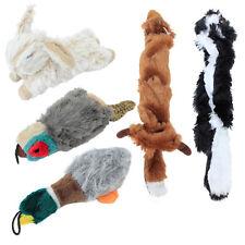 Dog Chew Stuffed Dog Toy Gift Big Bundle 5-Pack with Duck, Rabbit, Pheasant, Fox
