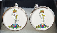 Royal Corps of Signals (CROS) Cufflinks - A Great Gift