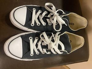 Size 8 - Converse Chuck Taylor All Star OX Black - W9166