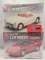 AMT   '53 & 93 Corvette Model Kit  NIB Sealed 1:25 scale  (615H)  6519 & 8607