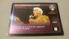 WWE Raw Deal RIC FLAIR YOU'RE GOING TO SPACE MOUNTAIN