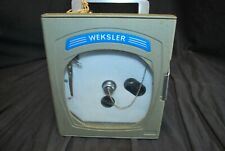 Weksler Chart Temp Recorder Untested As Is -A1