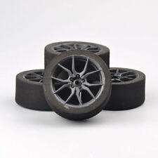 4x neumático racing espuma rueda set para HSP HPI 1/10 coche RC  Carretera Grip