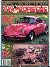 VW & Porsche Magazine December 1981 Whaletail 356 EX 020816jhe