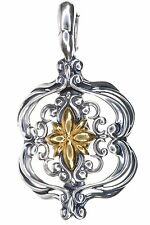 Carolyn Pollack Sterling Silver and Brass Enhancer
