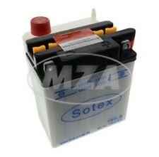 SOTEX batería - YB3L-B - 12V, 3Ah - incl. Ácido de la batería en una sola caja