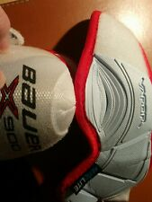 Bauer Vapor Jr Large Hockey Elbow Pads Red And White