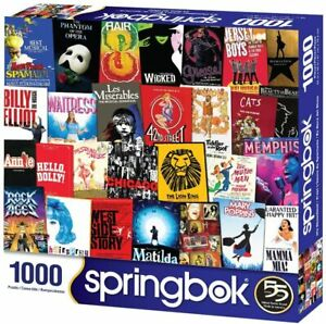 Showtime (Theatre Posters) 1000 piece jigsaw puzzle 762mm x 610mm (sk)