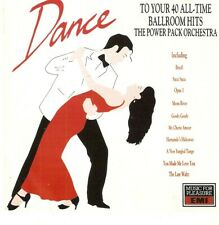 The Power Pack Orchestra - Dance To Your 40 All Time Ballroom Hits (CD 1990)
