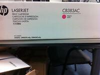 ORIGINAL HP CB383AC CB383A Toner magenta neu B