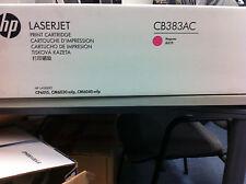 ORIGINALE HP cb383ac CB383A TONER MAGENTA NUOVO
