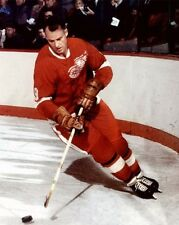 Detroit Red Wings GORDIE HOWE Glossy 8x10 Photo Hockey Print Poster