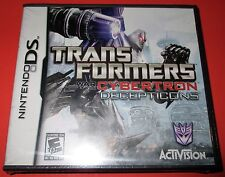 Nintendo DS Transformers: War for Cybertron Decepticons *New! *Free Shipping!