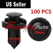 100 Pcs Bumper Hood Fender Splash Guard Retainer Clips Fasteners For Honda Acura