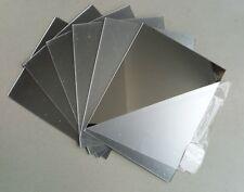 3 mm  Acrylic mirror Sheet 150 mm x 150 mm Perspex Plexiglass Safety Panel