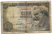 100 pesetas 1946 Francisco de Goya @@ Usado @@