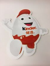 Kinderino publicitaire plaque kinder surprise Display Ltd Edition 2017 Chine RARE