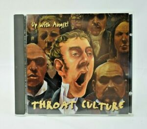 Throat Culture - Up With Angst! (CD, 1998) Pop/Rock